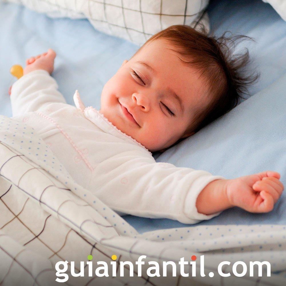 Cuando el bebé expresa felices sueños