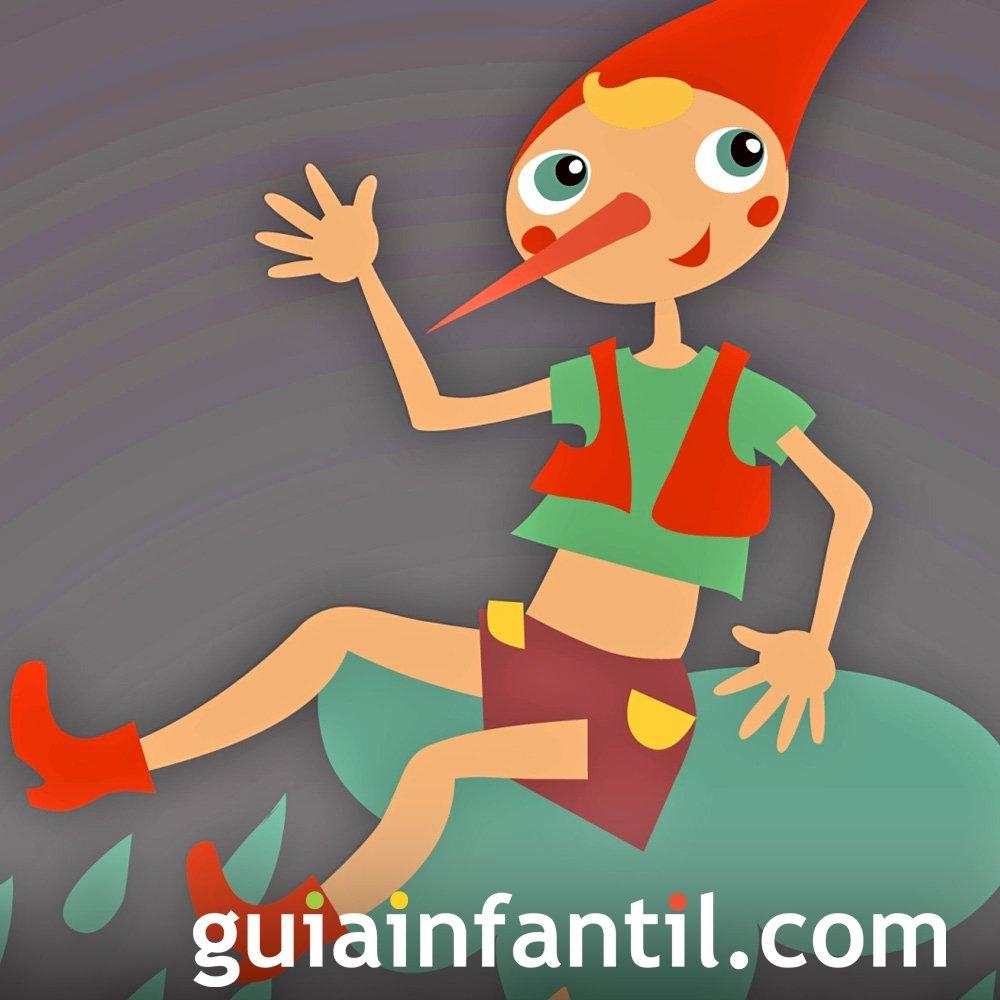 Pinocho. Cuento infantil popular en inglés