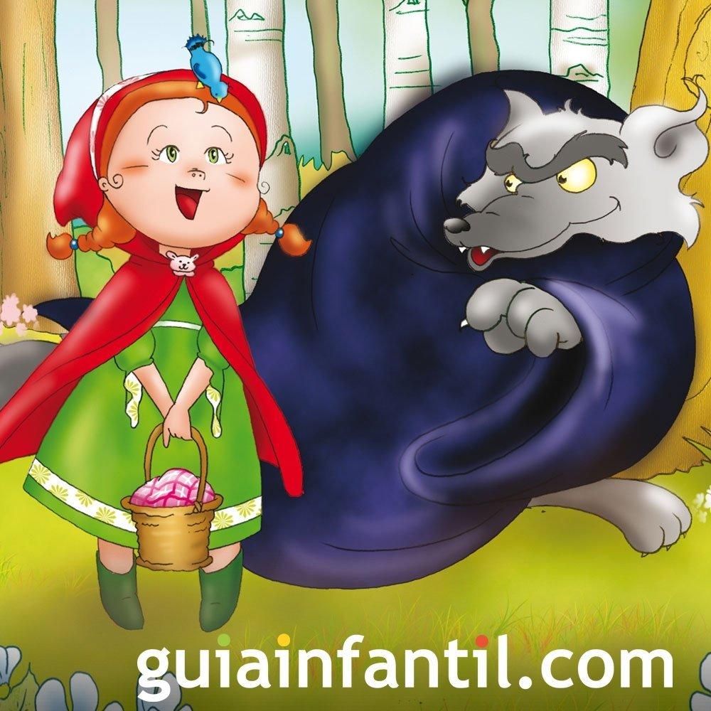 Caperucita Roja. Cuento tradicional infantil en inglés