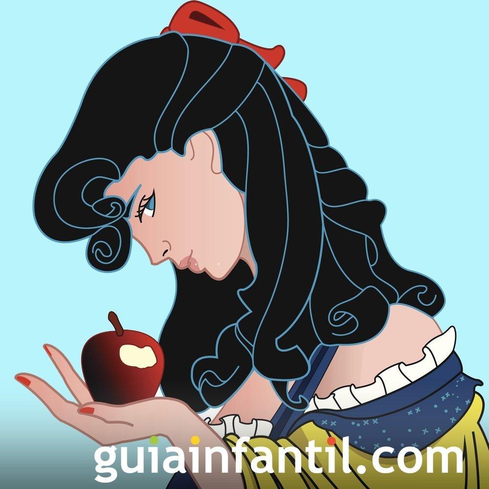 Blancanieves. Cuento infantil de princesas en inglés
