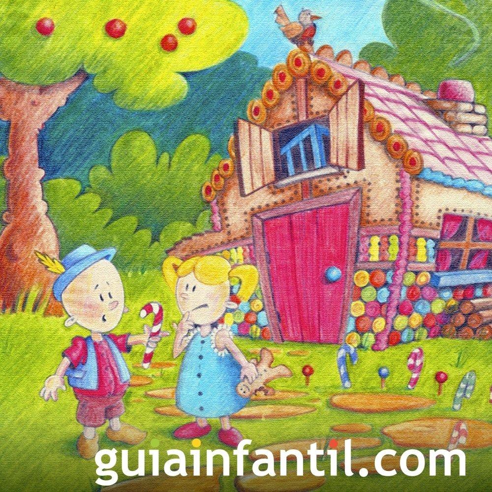 Hansel y Gretel. Cuentos infantiles de valores en inglés