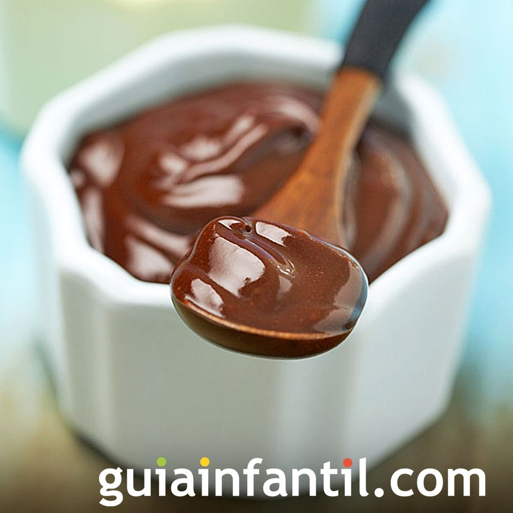 Receta de natillas caseras de chocolate