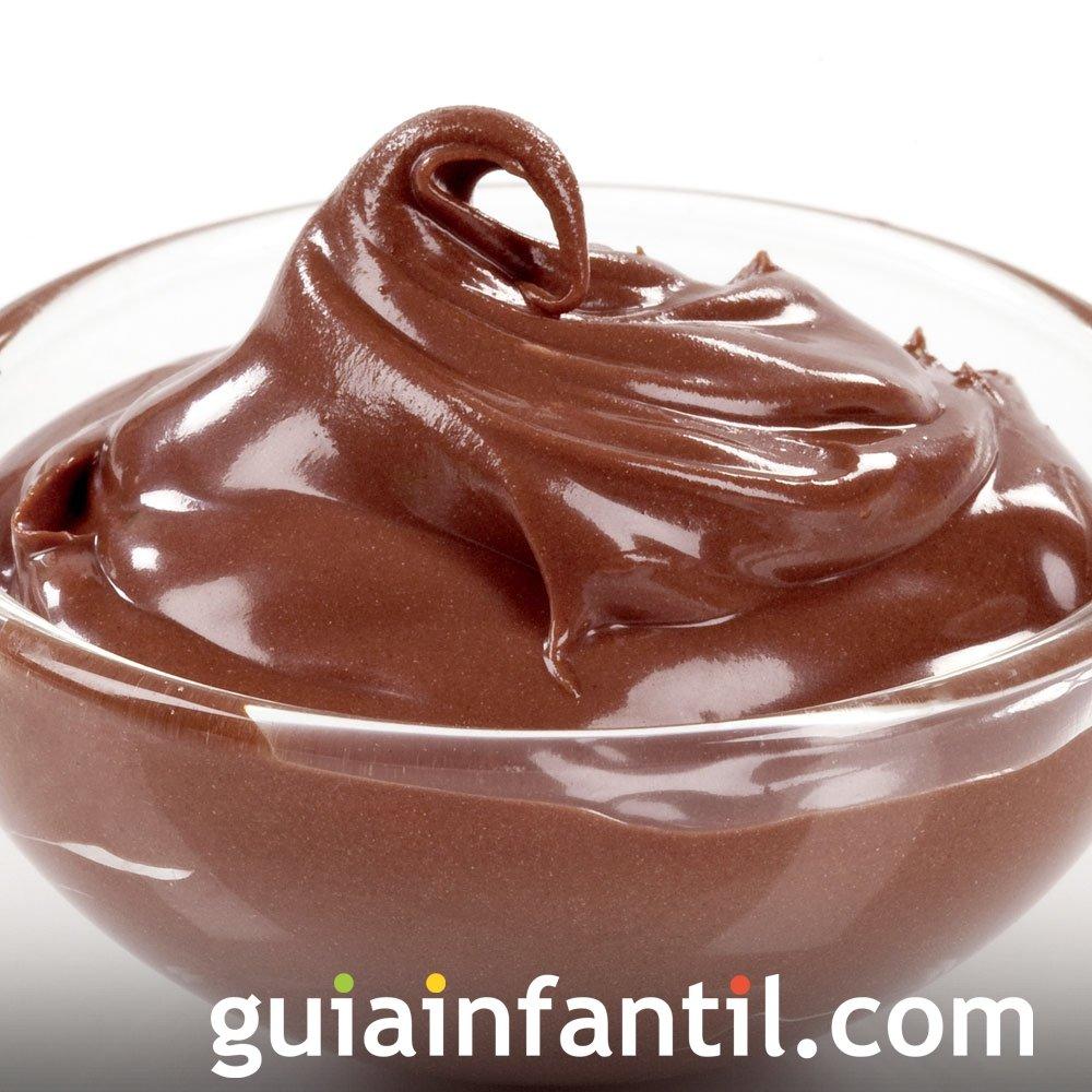 Receta de mousse de chocolate fácil y rápido