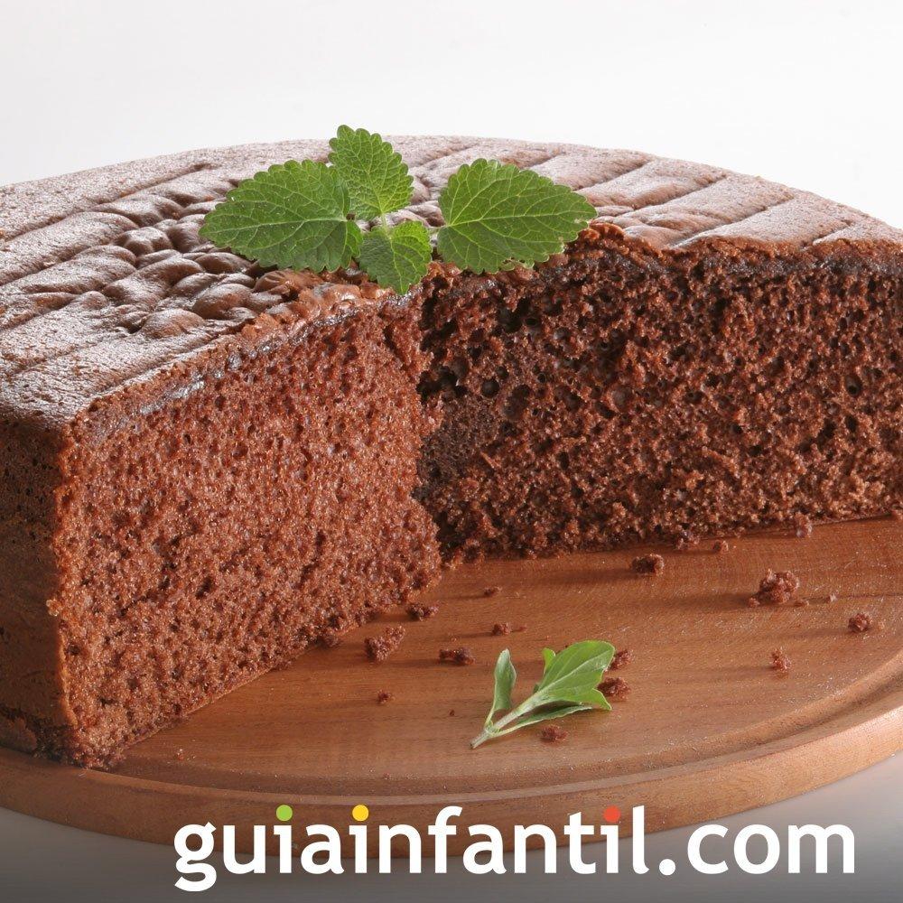Receta de bizcocho de chocolate con cola-cola
