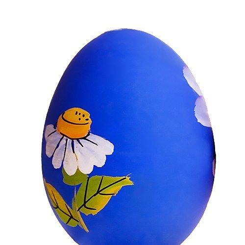 Decorar huevos de Pascua con motivos primaverales