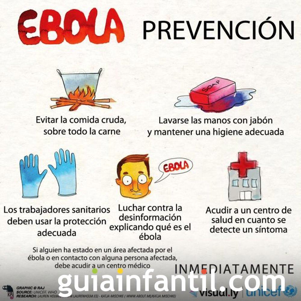 Cómo evitar el contagio del ébola