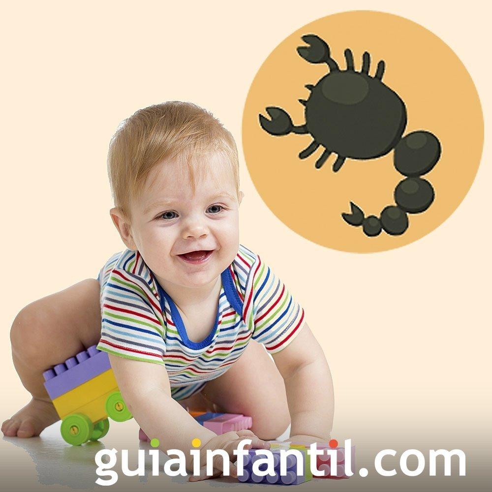 Bebés del signo de Escorpio. Astrología infantil