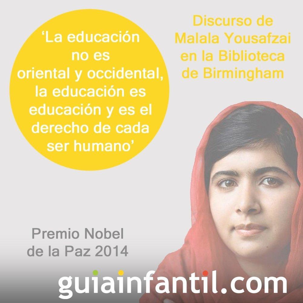 Discurso en defensa de la educación universal