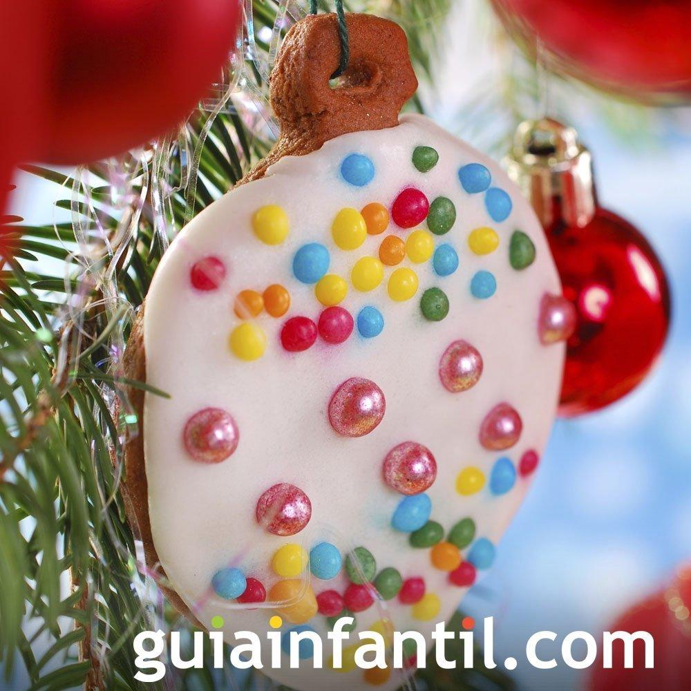 Adorno de Navidad. Galletas para decorar el árbol