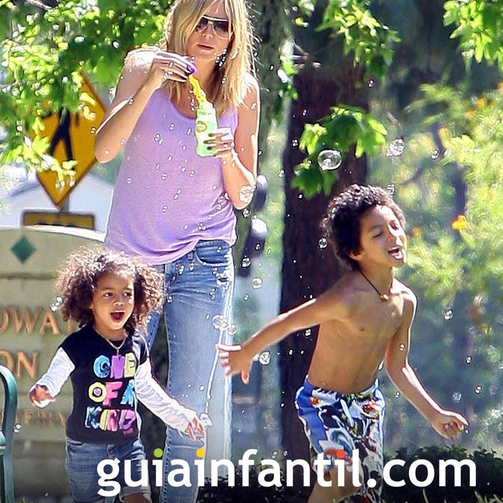 Heidi Klum, diseñadora de ropa infantil