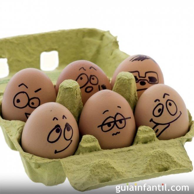 421 4 decorar huevos de pascua con caritas