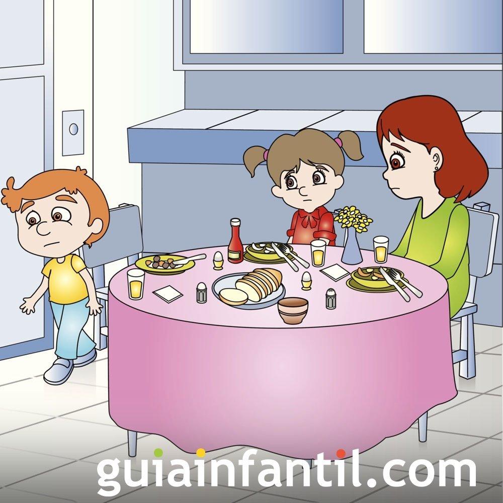 Detectar algún cambio en la conducta del niño