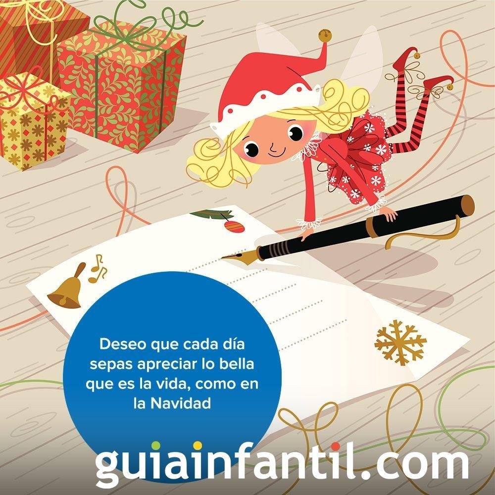 Un duende de Papá Noel para felicitar la Navidad