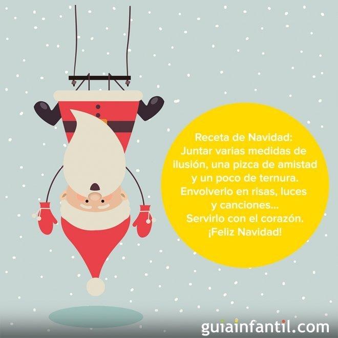 Una tarjeta de Navidad muy divertida de Papá Noel