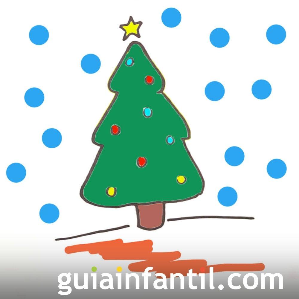 Cómo dibujar un árbol de Navidad
