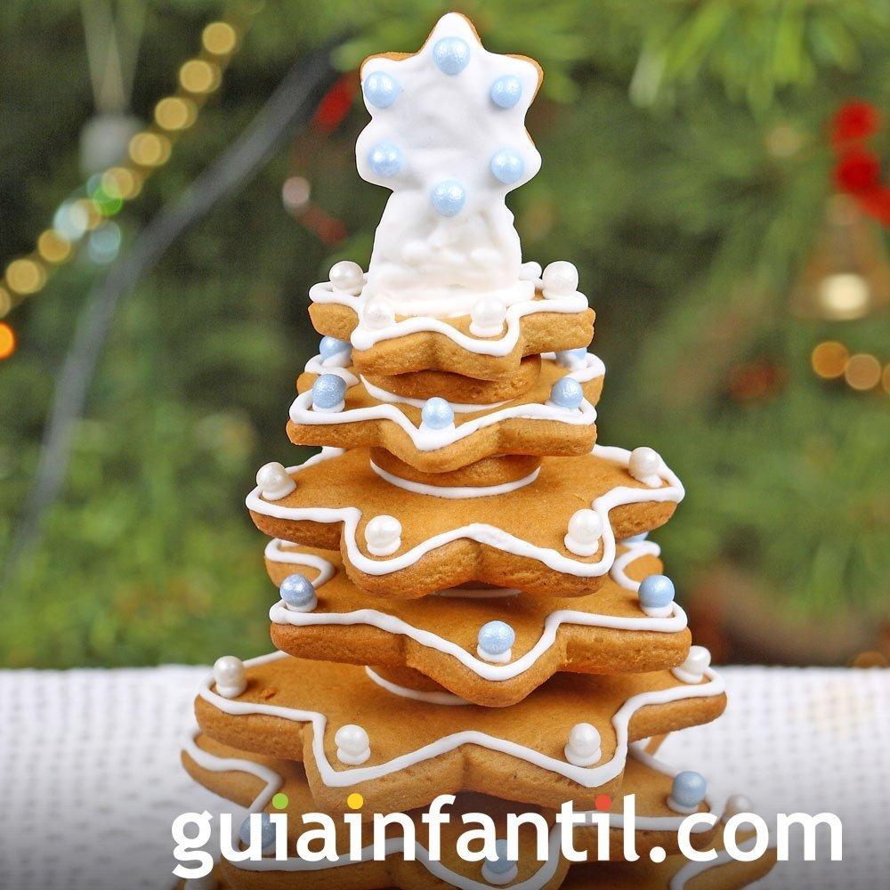 Un árbol de Navidad muy dulce
