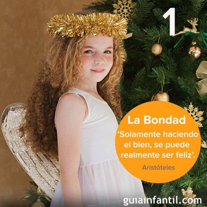 1- Bondad. Calendario navideño