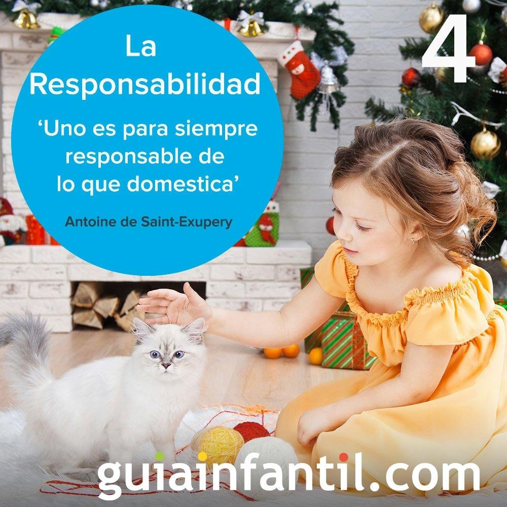 4- La responsabilidad. Calendario de Adviento