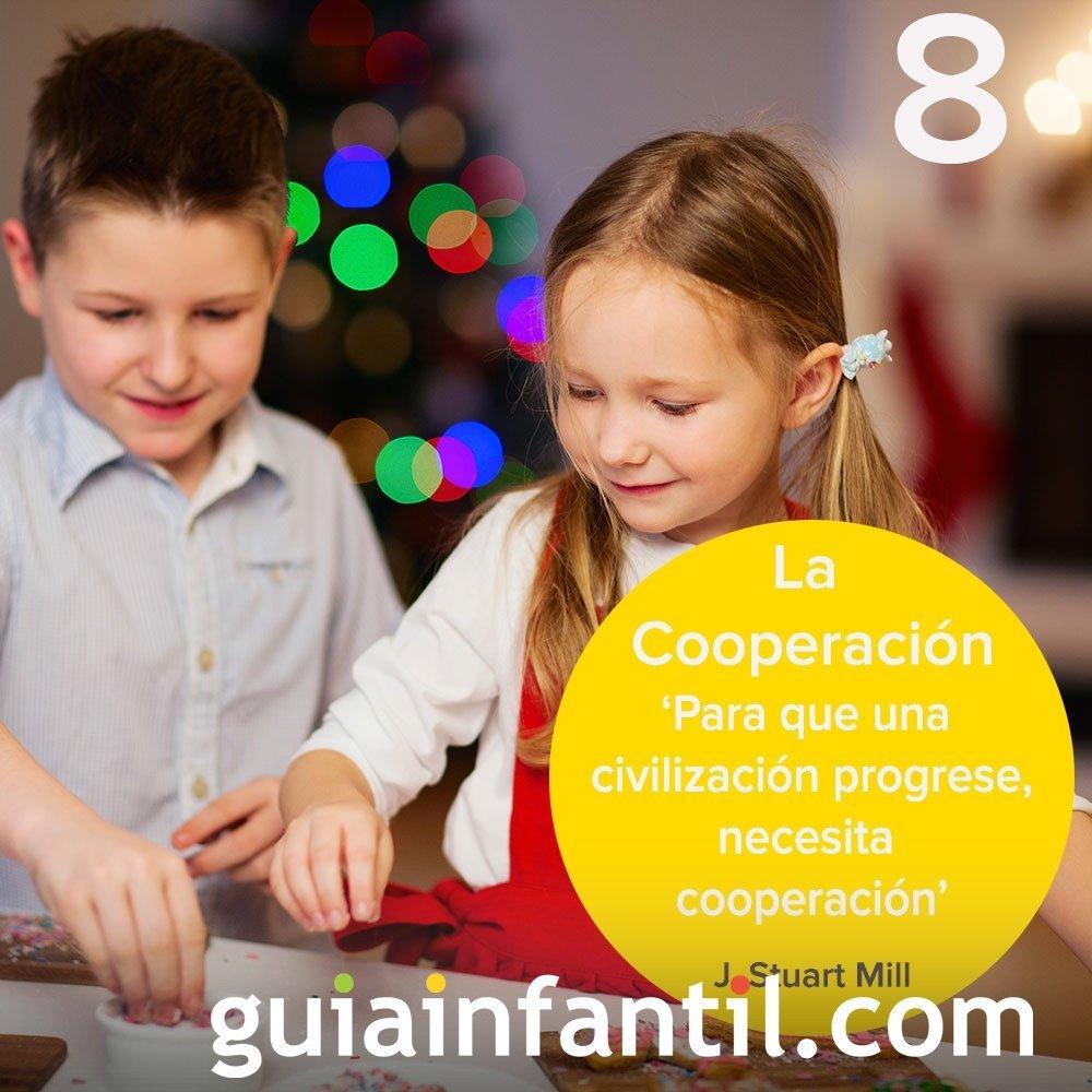 8- El valor de la Cooperación en nuestro calendario