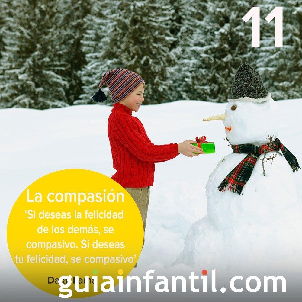 11 - La compasión. El valor que se consigue con la empatía