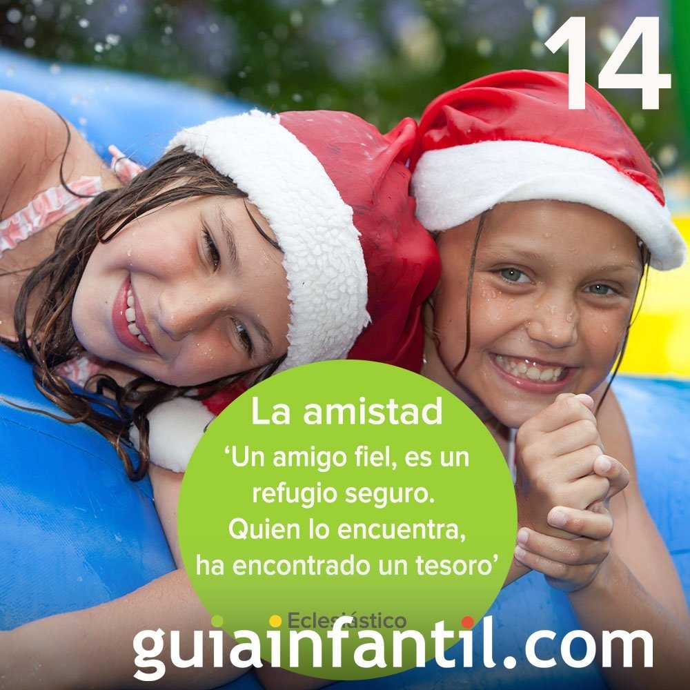 14- La amistad, valor fundamental en tu calendario