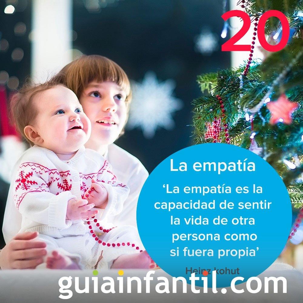 20- La empatía como valor del calendario de Adviento
