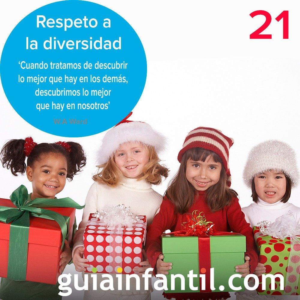 21- Respeto a la diversidad en tu calendario de Adviento