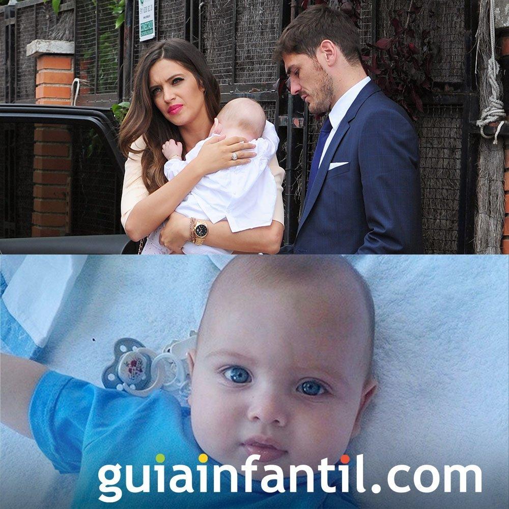 Martin, el precioso bebé de Sara Carbonero e Iker Casillas