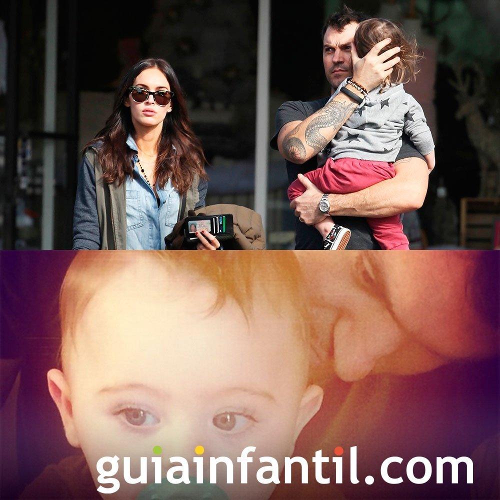 Megan Fox y Brian Austin Green y su segundo hijo
