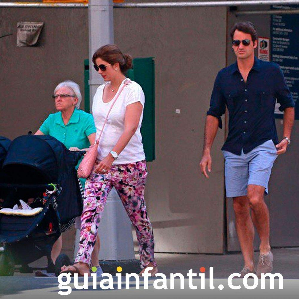 De nuevo mellizos para el tenista Roger Federer
