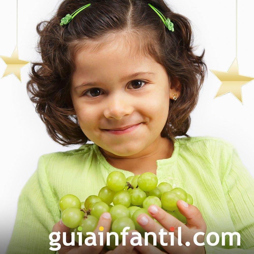Una uva por cada campanada para recibir el año nuevo en España