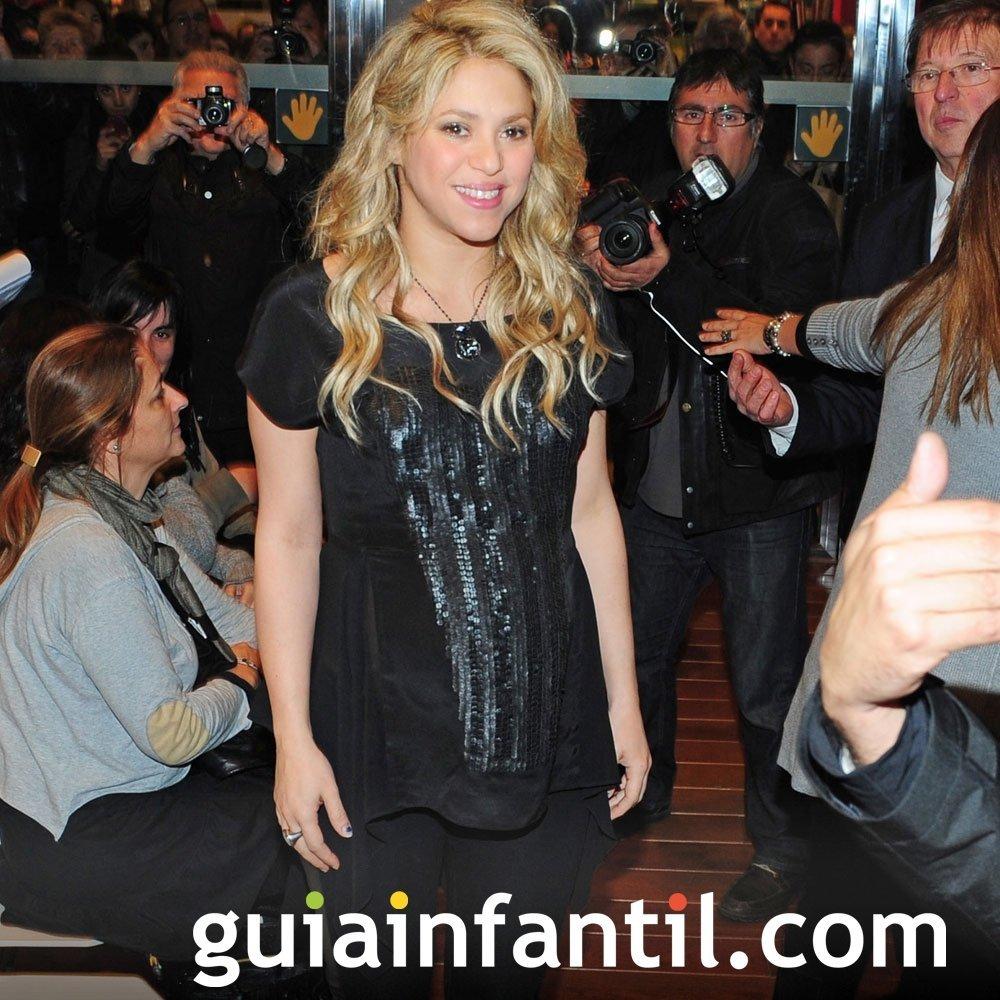 Shakira embarazada de su segundo hijo