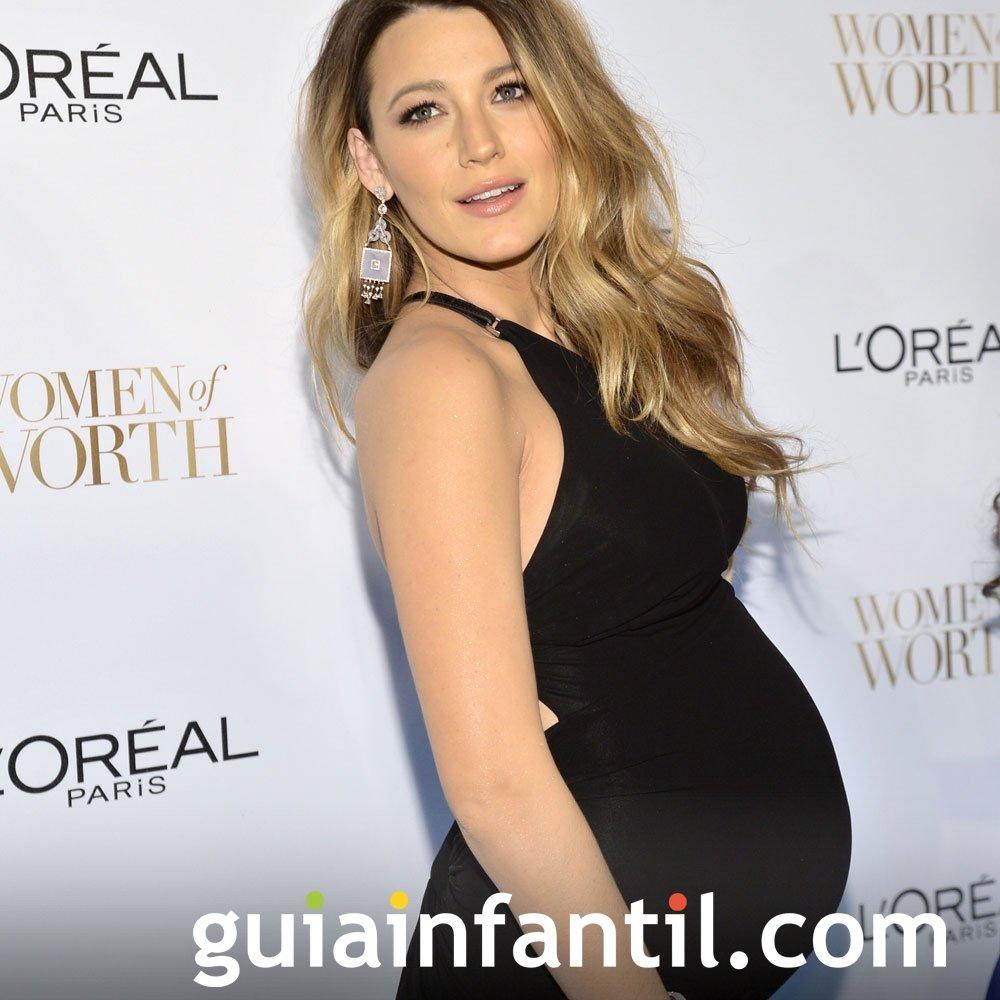 Blake Lively embarazada de su primer hijo