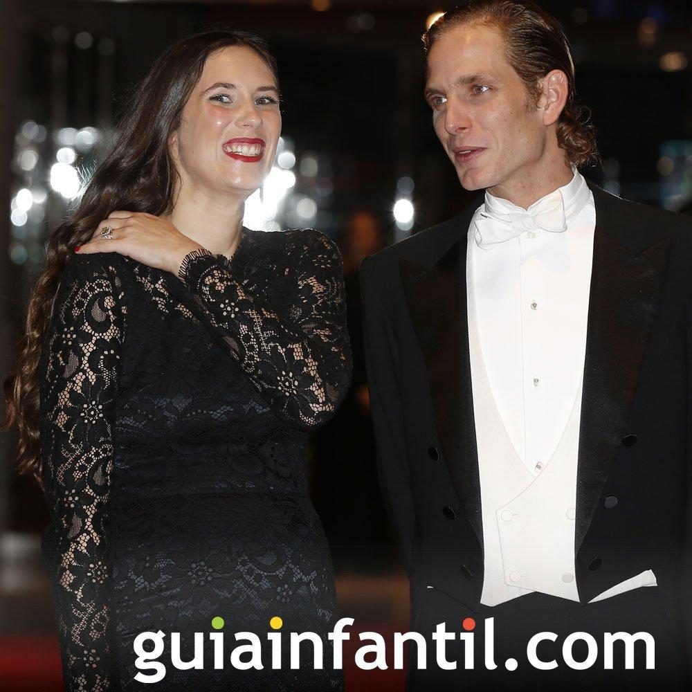 Tatiana Santo Domingo y Andrea Casiraghi, embarazados