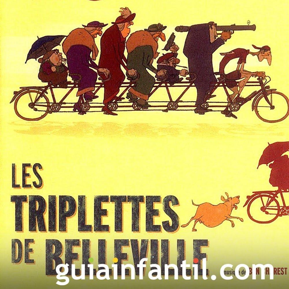 Las trillizas de Belleville. Cine sobre ciclismo
