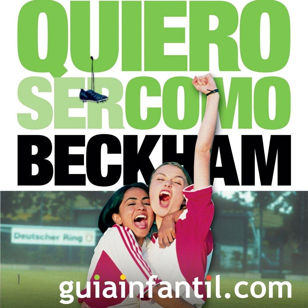 Quiero ser como Beckham. Película de fútbol