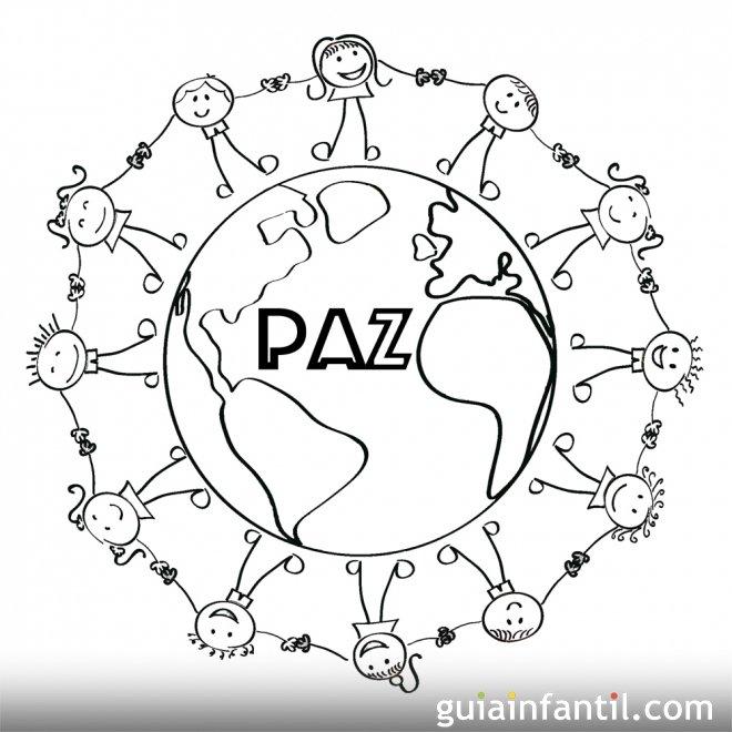 Dibujos de niños por la paz en el mundo