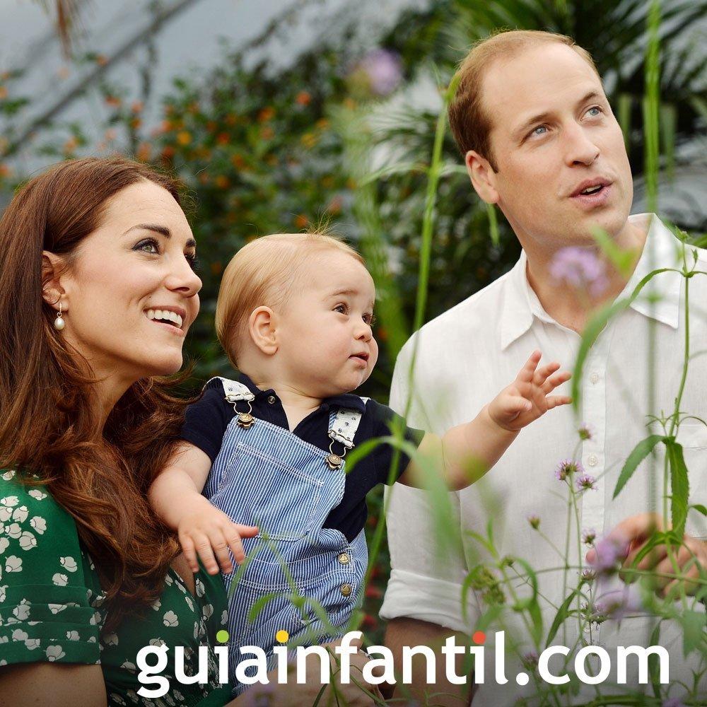 El nombre del bebé de William de Inglaterra es George