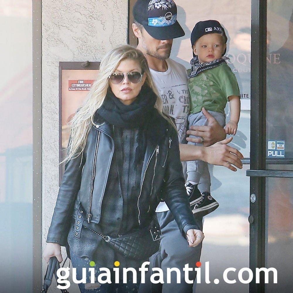 Axl es el nombre del hijo de Fergie y Josh Duhamel
