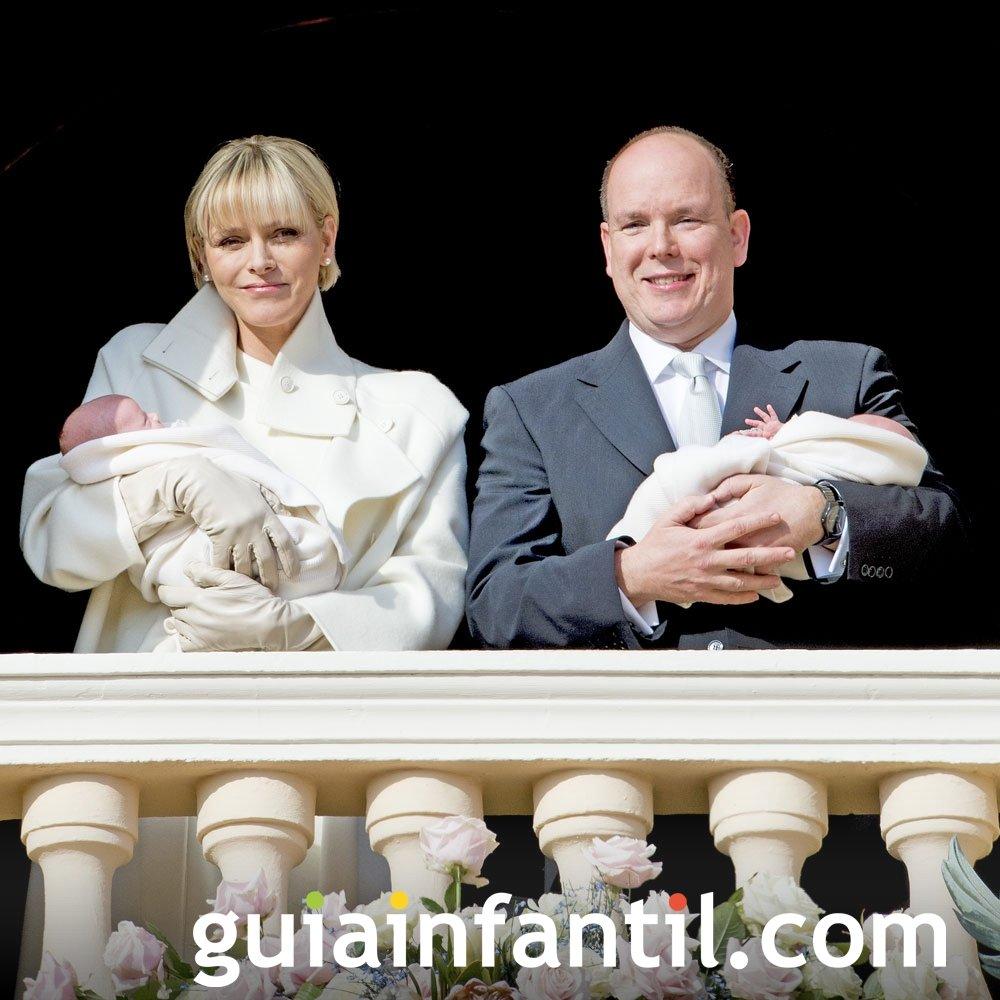 Gabriella y Jacques son los nombres de los hijos de Alberto de Mónaco