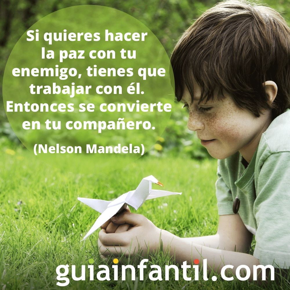 La paz según Nelson Mandela