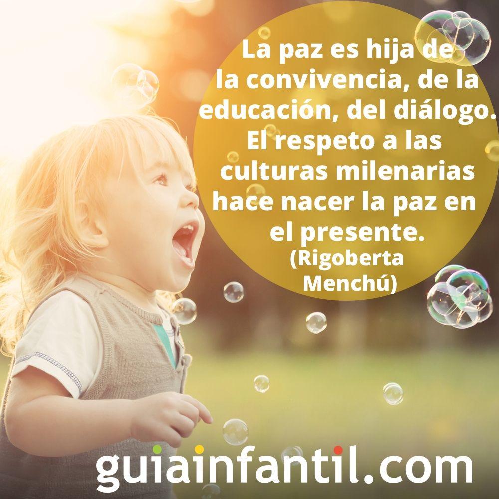 La Paz Según Rigoberta Menchú