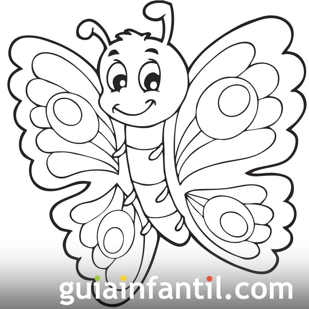 10 Dibujos De Mariposas Para Colorear