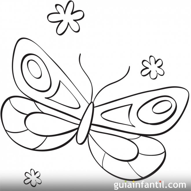 Mariposa Para Dibujar