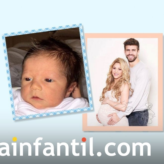 El segundo hijo de Shakira se llama Sasha