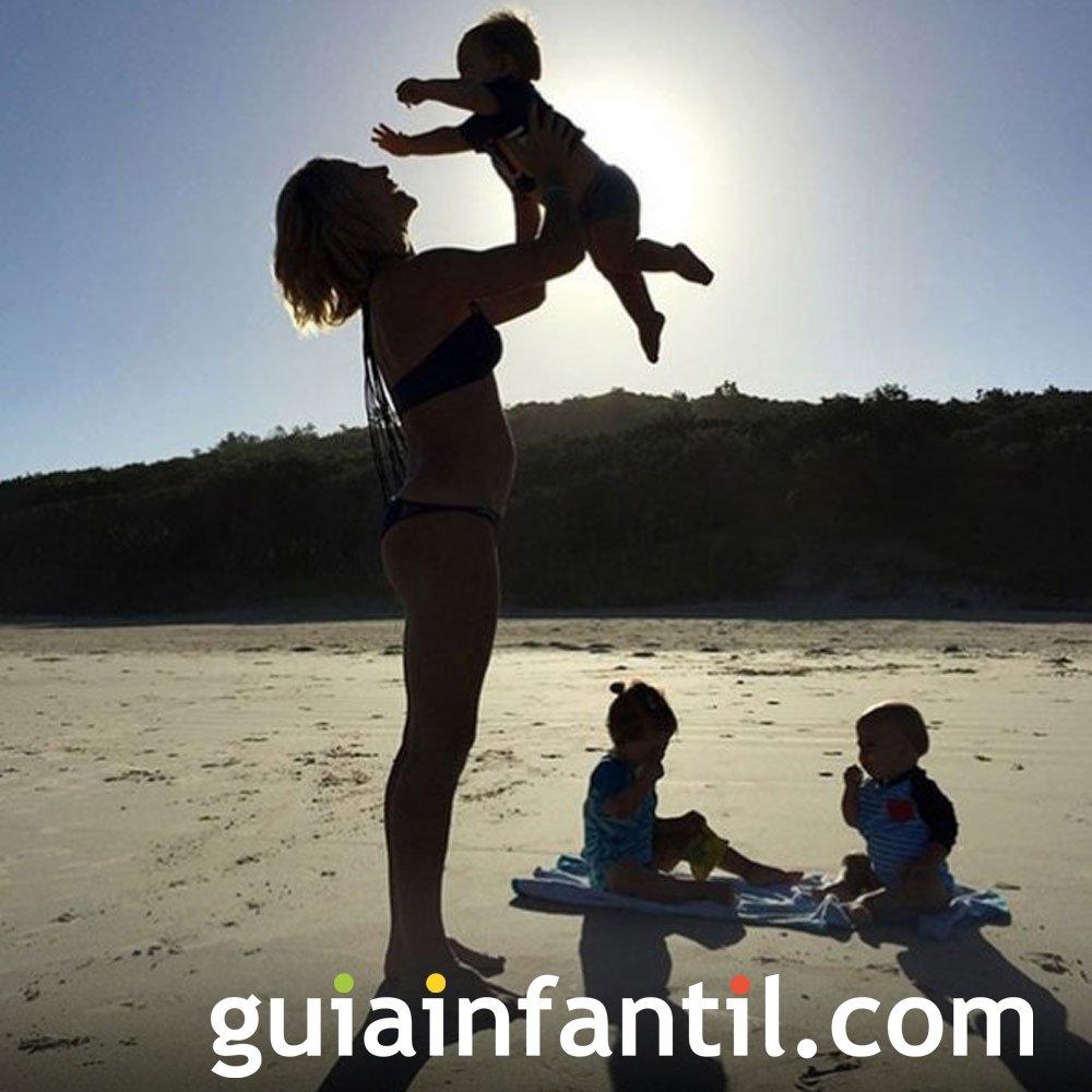 Elsa Pataky y Chris Helmsworth tienen 3 hijos: India, Tristan y Sasha