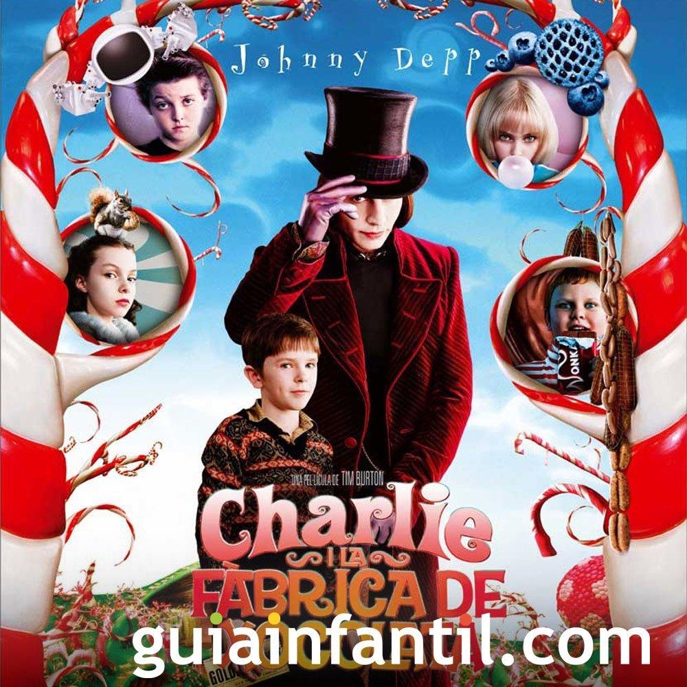 Charlie y la fábrica de chocolate, un abuelo bondadoso