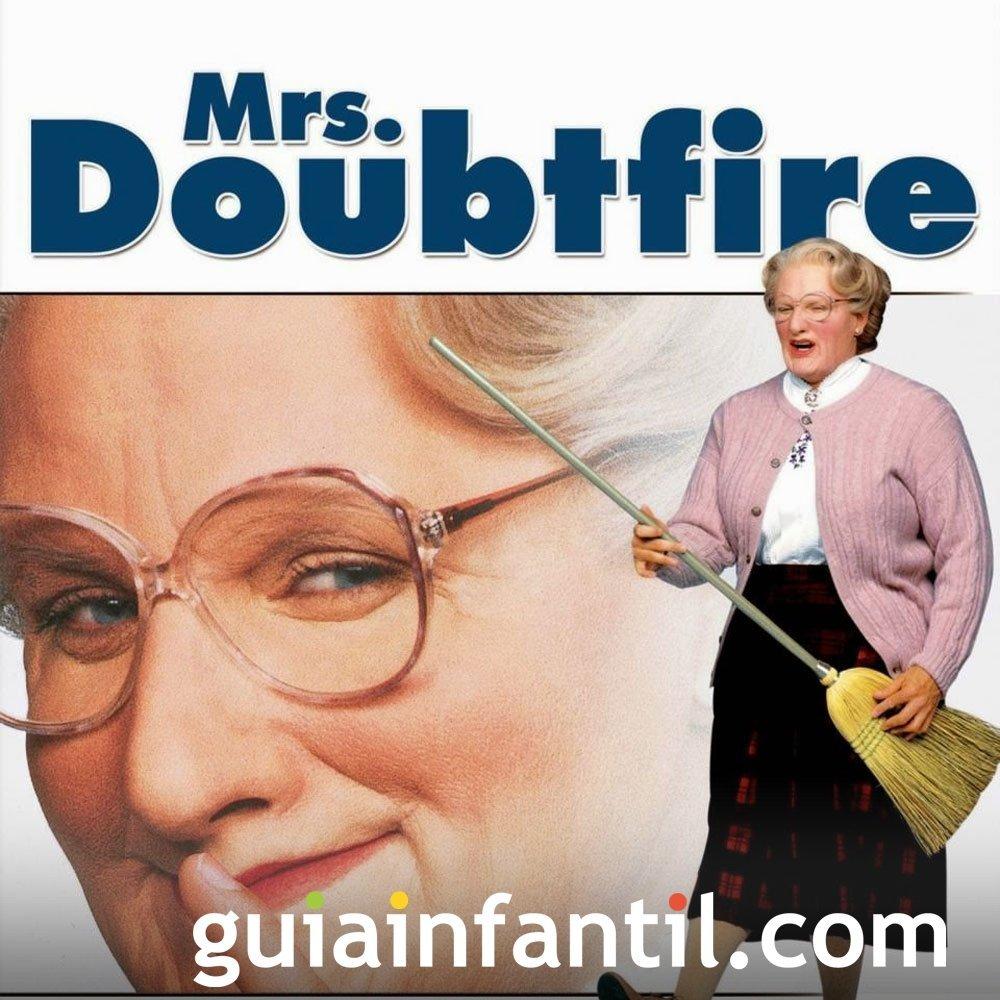 Mrs. Doubtfire, una 'abuela' muy marchosa