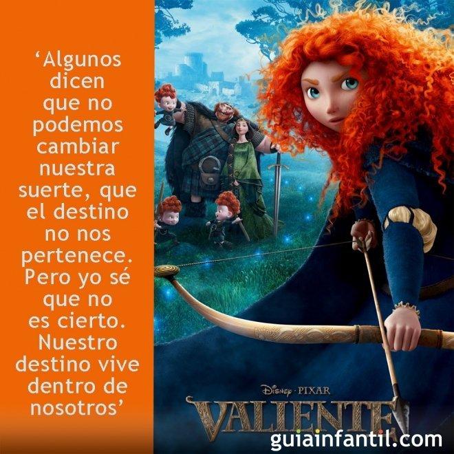 Frases de la película Brave o Valiente