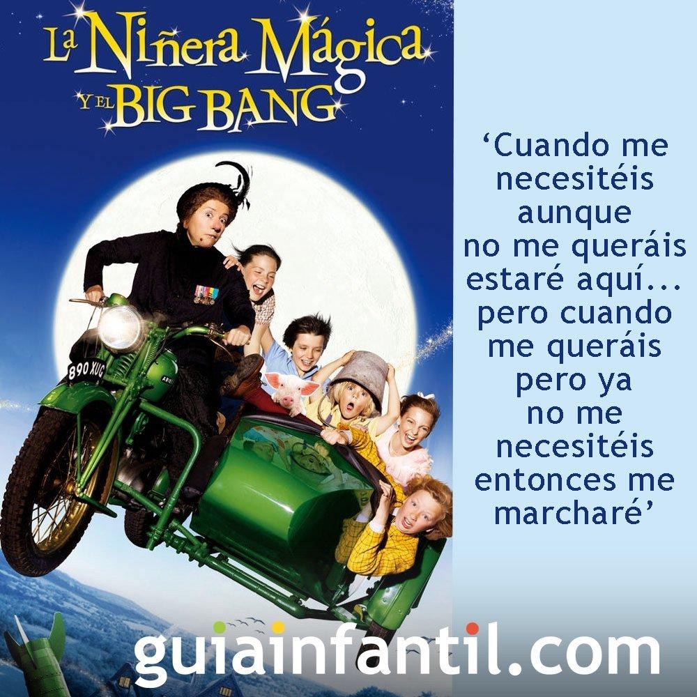 Frases de la película Niñera mágica